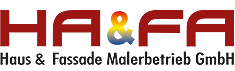 Haus & Fassade Malerbetrieb Logo